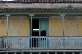 Old Wooden Balcony