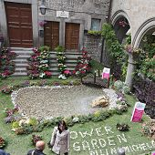 Viterbo, Italy, May 4, 2014: Exhibition
