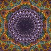 Mandala 3D Fractal