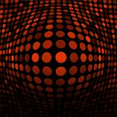Abstract Orange Technology Background