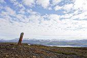 Sejte, a holy stone among the Lapps, Sami.