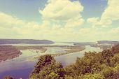 Russia, Samara City, Great River Volga