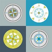 compasses decorative series