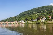 Old Bridge In Heidelberg - Germany