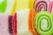 Color Jelly Candies, Sweets With Sugar Tasty.