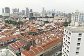 City View In Little India At Singapore