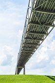 Bridge Crosses The Mississippi