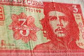 Постер, плакат: Банкнота Куба Че Гевары