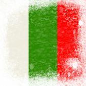 Copyspace Bulgaria Represents Waving Flag And Blank