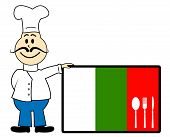 Bulgaria Chef Means Cooking In Kitchen And Chefs