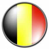 Belgian Badge Means Flag Europe And Patriot