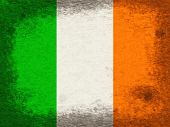 Ireland Copyspace Indicates National Flag And Country