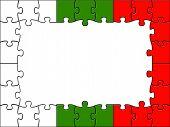 Bulgaria Jigsaw Means Blank Space And Bulgarian