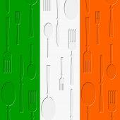Irish Food Means Euro Cuisine And Restaurant