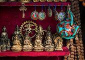 Souvenirs Shop In Nepal