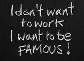 Seeking Fame