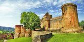 medieval castle Castelnau in Bretenoux ( Lot departement)  Franc