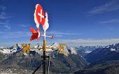 Summer Alpine Mountain