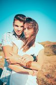 Couple In Love Outdoor