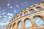 image of arena  - Roman amphitheatre  - JPG