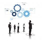 Vector of Diverse Business People Teamwork