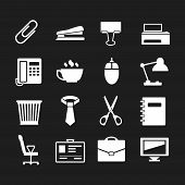 Set Icons Of Office