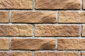 Brick wall texture, solid wall background.