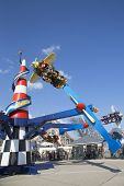 Air race in Coney Island Luna Park
