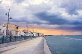 Larnaca Promenade Before The Rain