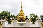 Prathat Sanhai Pagoda In Wianghaeng, Chiangmai Thailand