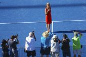 Induction ceremony for ten times Grand Slam champion Monica Seles into Court of Champions