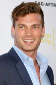 LOS ANGELES - AUG 12:  Derek Theler at the Dynamic & Diverse:  A 66th Emmy Awards Celebration of Diversity Event at Television Academy on August 12, 2014 in North Hollywood, CA