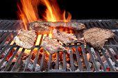 Grilled Pork Ribs, Brisket And Beefsteaks