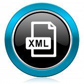 xml file glossy icon