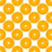 Background With Citrus-fruit Of Orange Slices. Close-up. Studio Photography.
