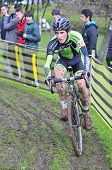 Gijon, Spain - January 11: Cyclocross Championships Spain In January 11, 2015 In Gijon, Spain. The C