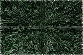 Abstract Green Extrusion Background