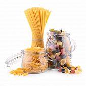 assortment of pasta
