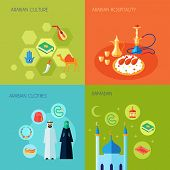 Arabic Culture Flat