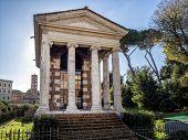 Temple Of Fortuna Virilis Or Temple Of Portunus In Rome