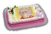 picture of christening  - christening cake - JPG