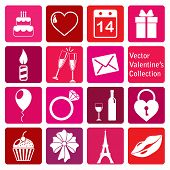 vector collection: st. valentine's day icons