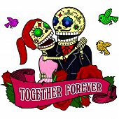 Funny skeletons_Together forever