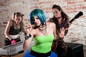 Female Punk Rock Band