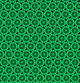 Wall-papers With Round Abstract Green Patterns
