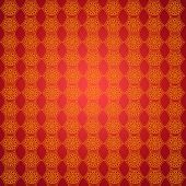 Wall-papers With Golden Abstract Patterns On The Red
