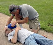 Giving Cpr Help