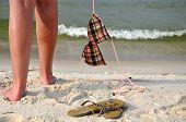 Carefree On The Beach