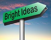 great idea find inspiration and search bright and brilliant new ideas start brainstorming to find inspiration