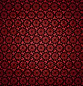 Wall-papers With Round Abstract Red Patterns